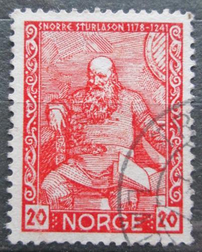 Poštovní známka Norsko 1941 Snorri Sturluson, básník Mi# 261