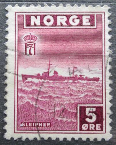 Poštovní známka Norsko 1945 Loï Mi# 276
