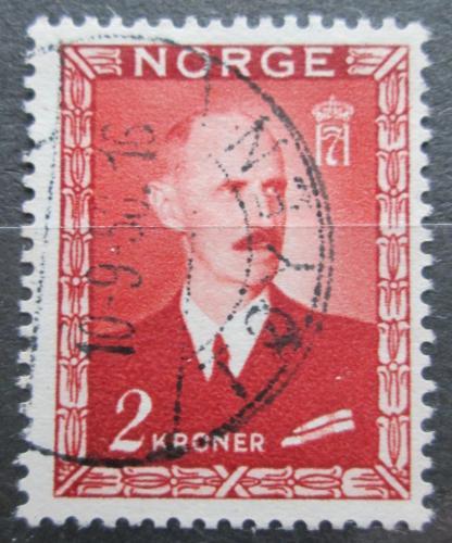 Poštovní známka Norsko 1946 Král Haakon VII. Mi# 317