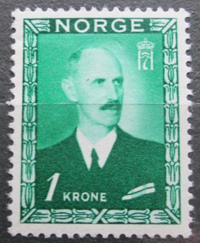 Poštovní známka Norsko 1946 Král Haakon VII. Mi# 315