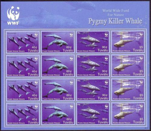 Poštovní známky Tuvalu 2006 Fereza malá, WWF Mi# 1307-10 Bogen Kat 54€