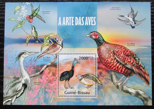 Poštovní známka Guinea-Bissau 2013 Ptáci Mi# Block 1171 Kat 8€