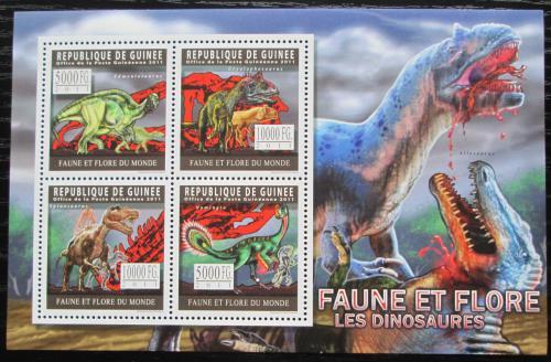Poštovní známky Guinea 2011 Dinosauøi Mi# 8299-8302 Kat 12€ - zvìtšit obrázek