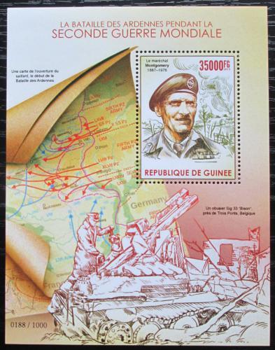 Poštovní známka Guinea 2015 Bitva v Ardenách Mi# Block 2572 Kat 14€