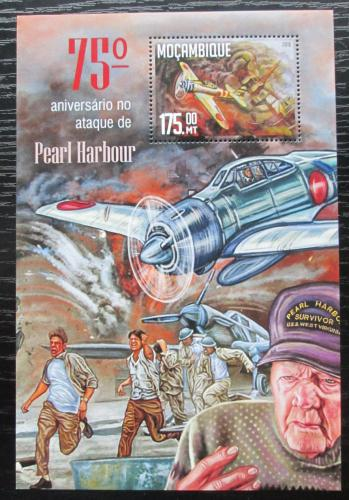 Poštovní známka Mosambik 2016 Útok na Pearl Harbor Mi# Block 1151 Kat 10€
