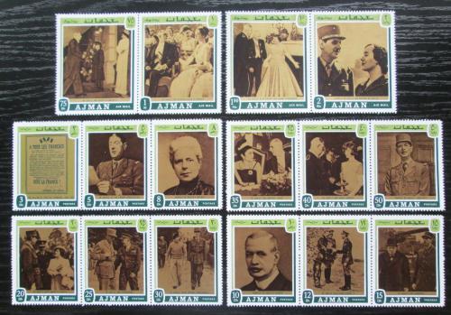 Poštovní známky Adžmán 1971 Charles de Gaulle Mi# 1124-39 A