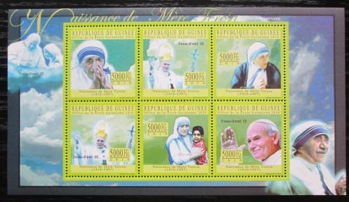 Poštovní známky Guinea 2010 Matka Tereza Mi# 7697-7702 Kat 12€