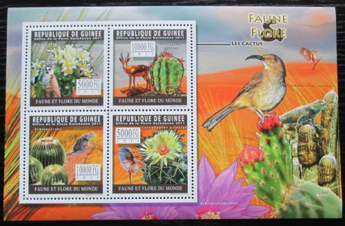 Poštovní známky Guinea 2011 Kaktusy Mi# 8274-77 Kat 12€