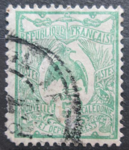 Poštovní známka Nová Kaledonie 1905 Kagu chocholatý Mi# 88
