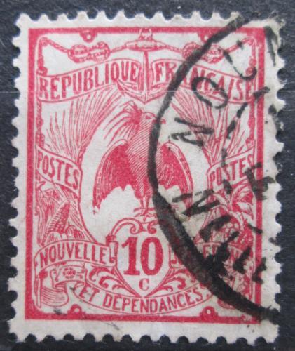 Poštovní známka Nová Kaledonie 1925 Kagu chocholatý Mi# 113