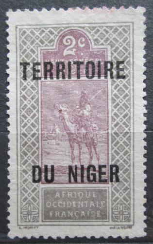 Poštovní známka Niger 1921 Tuareg na velbloudovi Mi# 2