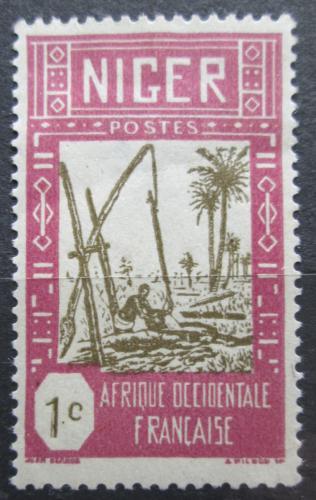 Poštovní známka Niger 1926 Studna Mi# 29