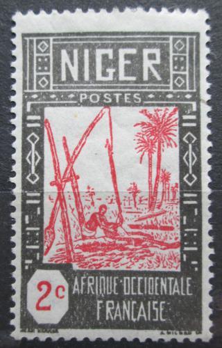 Poštovní známka Niger 1926 Studna Mi# 30