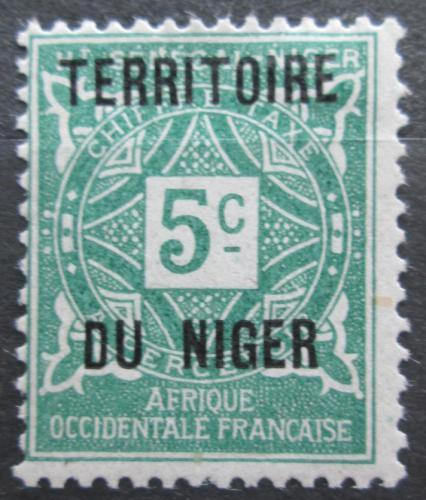 Poštovní známka Niger 1921 Doplatní Mi# 1