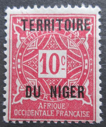 Poštovní známka Niger 1921 Doplatní Mi# 2