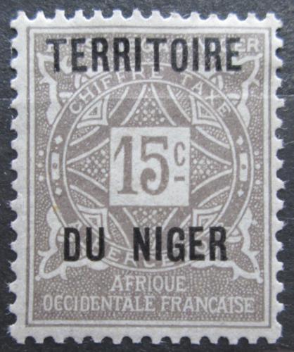 Poštovní známka Niger 1921 Doplatní Mi# 3