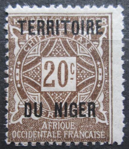 Poštovní známka Niger 1921 Doplatní Mi# 4