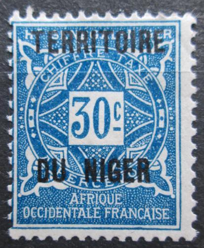 Poštovní známka Niger 1921 Doplatní Mi# 5