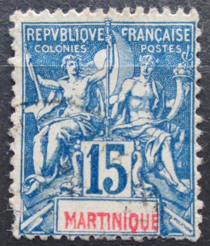 Poštovní známka Martinik 1892 Koloniální alegorie Mi# 31 Kat 7.50€