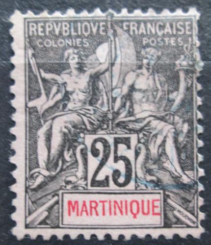 Poštovní známka Martinik 1892 Koloniální alegorie Mi# 33
