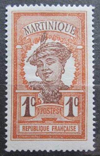 Poštovní známka Martinik 1908 Domodkynì Mi# 56