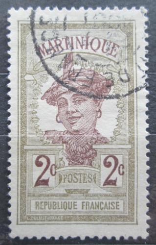 Poštovní známka Martinik 1908 Domodkynì Mi# 57