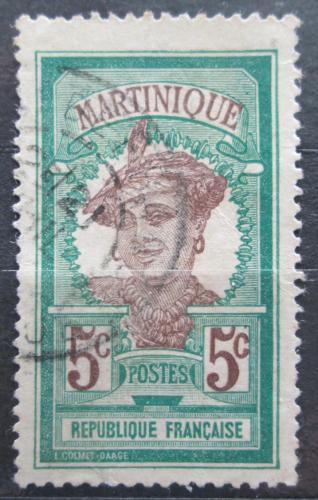 Poštovní známka Martinik 1908 Domodkynì Mi# 59