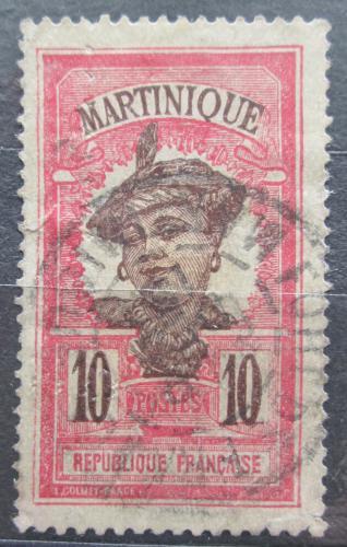 Poštovní známka Martinik 1908 Domodkynì Mi# 60