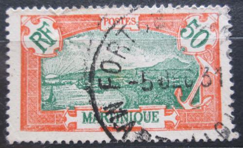 Poštovní známka Martinik 1925 Fort-de-France Mi# 95