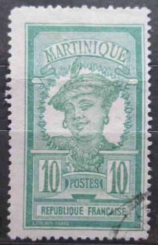 Poštovní známka Martinik 1922 Domorodkynì Mi# 85