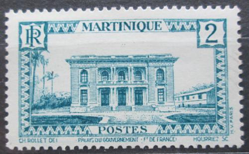 Poštovní známka Martinik 1933 Vládní palác Mi# 127
