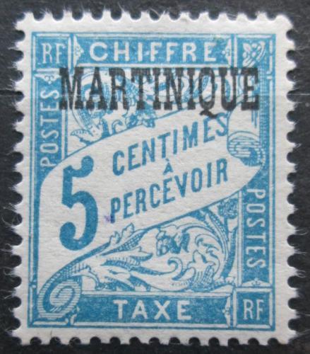 Poštovní známka Martinik 1927 Doplatní Mi# 1