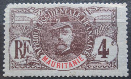 Poštovní známka Mauritánie 1906 Louis Faidherbe Mi# 3