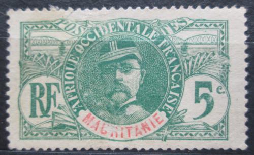 Poštovní známka Mauritánie 1906 Louis Faidherbe Mi# 4