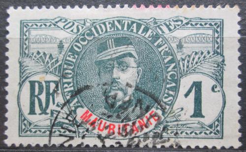 Poštovní známka Mauritánie 1906 Louis Faidherbe Mi# 1