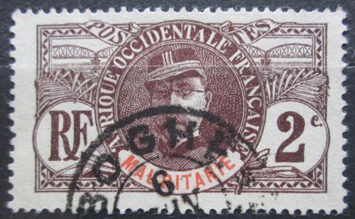 Poštovní známka Mauritánie 1906 Louis Faidherbe Mi# 2