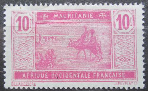 Poštovní známka Mauritánie 1926 Obchodní karavana Mi# 48