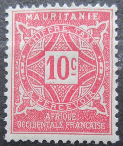 Poštovní známka Mauritánie 1914 Doplatní Mi# 10