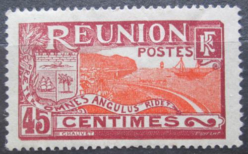 Poštovní známka Reunion 1907 Pøístav St. Denis Mi# 66
