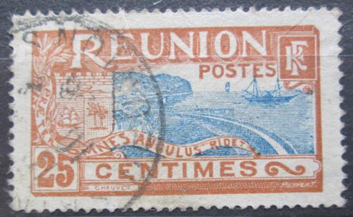 Poštovní známka Reunion 1922 Pøístav St. Denis Mi# 95