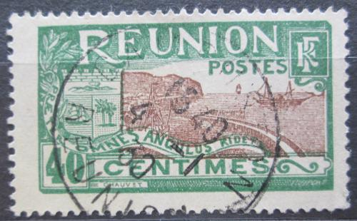 Poštovní známka Reunion 1925 Pøístav St. Denis Mi# 99