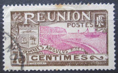 Poštovní známka Reunion 1928 Pøístav St. Denis Mi# 106