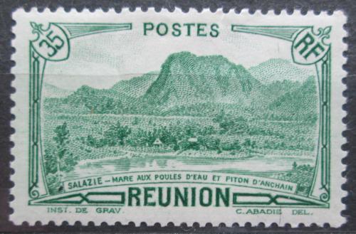 Poštovní známka Reunion 1938 Místní krajina Mi# 134