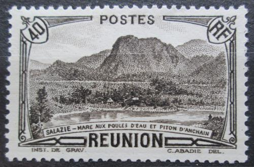 Poštovní známka Reunion 1933 Místní krajina Mi# 135
