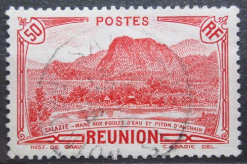 Poštovní známka Reunion 1933 Místní krajina Mi# 137