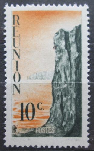 Poštovní známka Reunion 1947 Skála Mi# 309