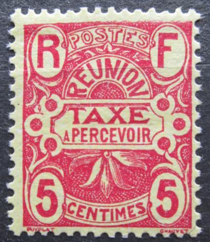 Poštovní známka Reunion 1907 Doplatní Mi# 6