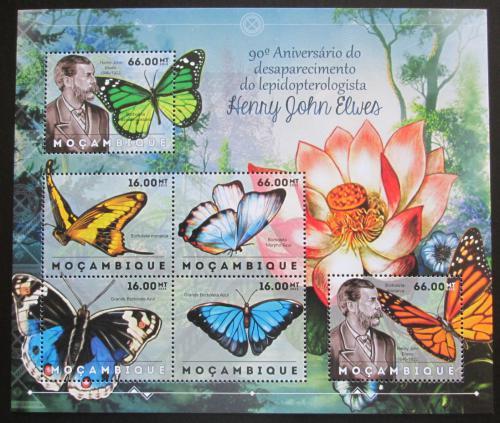 Poštovní známky Mosambik 2012 Motýli, Henry John Elwes Mi# 6125-30 Kat 14€