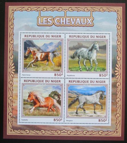 Poštovní známky Niger 2016 Konì Mi# 4567-70 Kat 13€