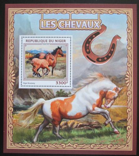 Poštovní známka Niger 2016 Konì Mi# Block 618 Kat 13€